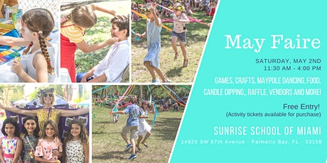 Sunrise School of Miami's May Faire! tickets