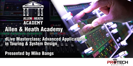 [POSTPONED] Allen & Heath Academy - Salt Lake City (dLive) tickets