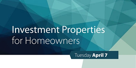 Investment Properties for Home Owners tickets