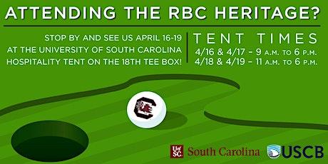 EVENT CANCELED:RBC Heritage - University of South Carolina Hospitality Tent tickets