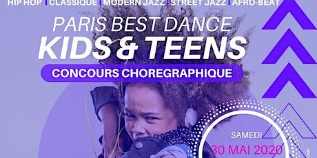 PARIS BEST DANCE - KIDS & TEENS - Concours chorégraphique billets
