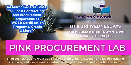 PINK Procurement Lab (Procurement Information you Need to Know) tickets