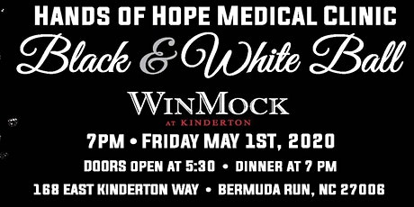 Hands of Hope's Black & White Ball tickets