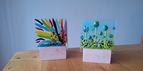 Fused Glass Candle Panels tickets