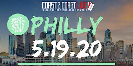 Coast 2 Coast LIVE Showcase Philadelphia - Artists Win $50K In Prizes! tickets