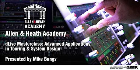 Allen & Heath Academy - San Luis Obispo (dLive) tickets