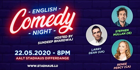 English Comedy Night - International Edition tickets