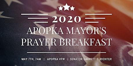 2020 Apopka Mayor's Prayer Breakfast tickets