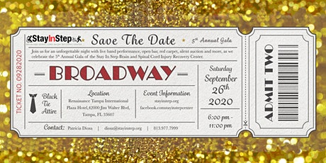 5th Annual Stay In Step Gala tickets