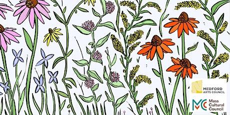 Stamp Your Own Pollinator Garden: A Free Kids' Craft Workshop tickets