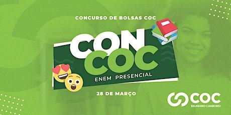 CONCURSO DE BOLSA | PREPARATÓRIO ENEM - CONCOC 2020 ingressos