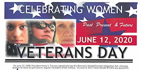 Celebrating Women Veterans - Past, Present, and Future tickets