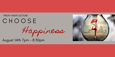 Choose Happiness tickets