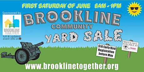 Brookline Community Yard Sale tickets