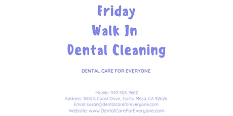 Costa Mesa Dental Day - Dental Care Friday - Sponsored By DCFE tickets