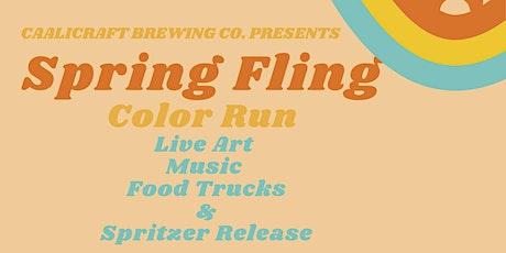 Spring Fling: COLOR RUN tickets