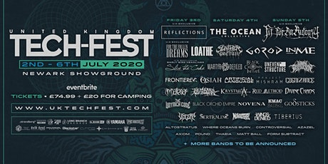 UK Tech-Fest 2020 - Technical, progressive metal festival tickets
