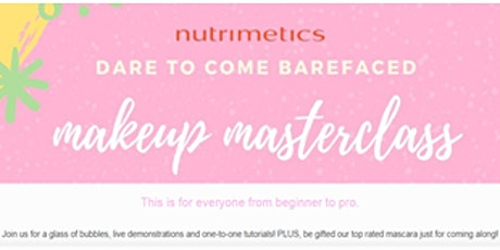 Makeup Masterclass tickets