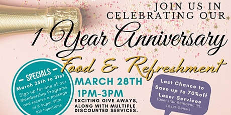 Argyle Med Spa's 1 Year Celebrations- Postponed  Date TBD tickets