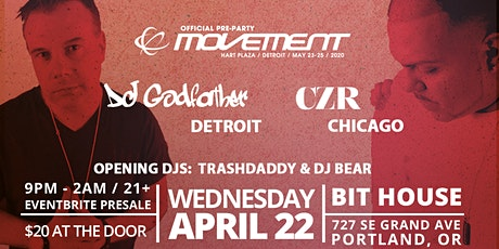 Official Movement Pre-Party, W/Godfather & CZR tickets