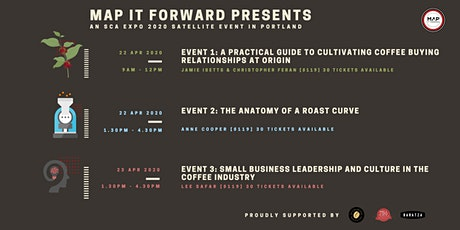MAP IT FORWARD SCA COFFEE EXPO 2020 SATELLITE EVENTS tickets