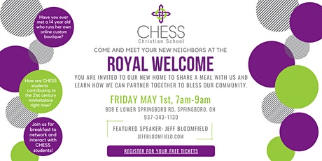 The Royal Welcome tickets