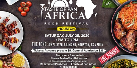 Taste of Pan Africa Food Festival in Houston tickets