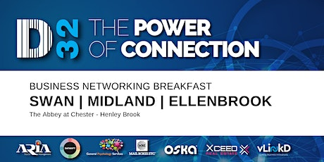 District32 Business Networking Perth – Swan / Midland / Ellenbrook - Fri 29th May tickets