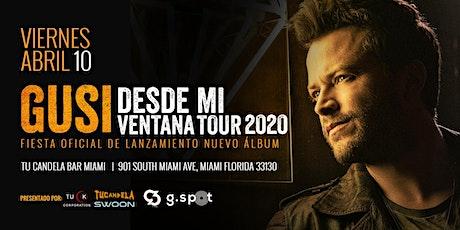 Gusi en Miami 10 de Abril tickets