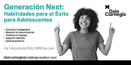 Curso: Habilidades para el Éxito para Adolescentes: Generación Next entradas
