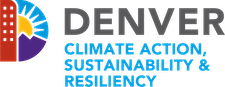 Denver Climate Action, Sustainability & Resiliency logo