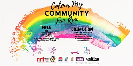 Colour My Community Fun Run/Walk tickets