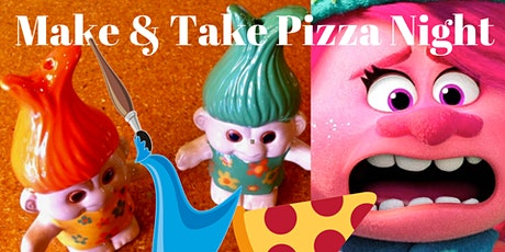 Karaoke TROLL PIZZA NIGHT (Parents night out:)POTTERY PAINTING tickets