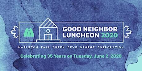 MFCDC Good Neighbor Luncheon 2020 tickets