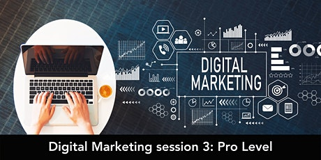 Digital Marketing session 3: Pro Level tickets