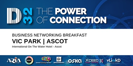 District32 Business Networking Perth – Vic Park (Ascot) - Tue 30th June tickets
