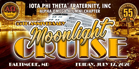 Alpha Omega 55th Anniversary Moonlight Cruise tickets