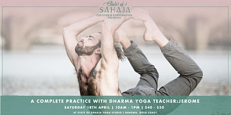 Direct from NYC, Dharma Yoga teacher Jerome tickets