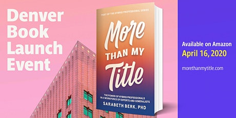 POSTPONED- More Than My Title- Denver Book Launch Event tickets