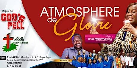 """Soirée de louange et adoration  """" Atmosphère de Gloire"""" billets"""