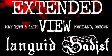 Extended View Weekend tickets