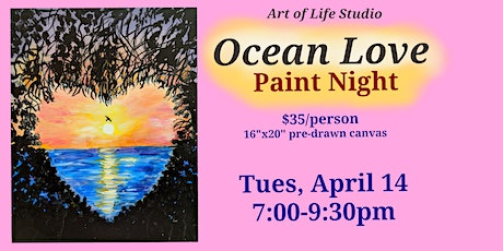 Paint Night: Ocean Love tickets