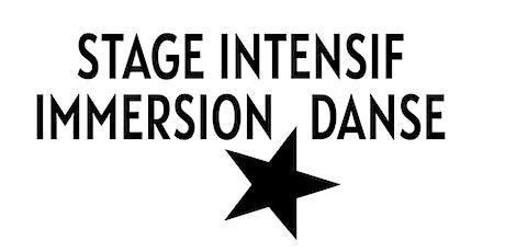 STAGE D'ÉTÉ IMMERSION DANSE 2020 billets