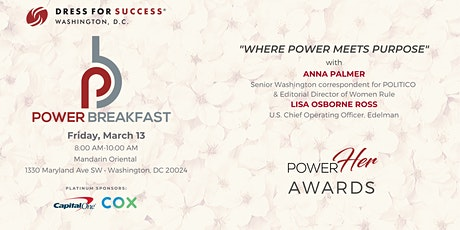 Dress for Success Washington, DC Annual Power Breakfast tickets