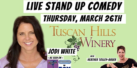LIVE Stand Up Comedy with Jodi White in Effingham, IL tickets