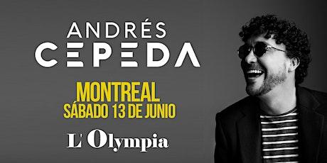 Andrés Cepeda | Montréal billets
