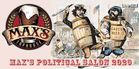 Max's Political Salon April 7th tickets