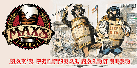 Max's Political Salon April 15th tickets