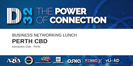 District32 Business Networking Perth – Perth CBD - Thu 11th June tickets