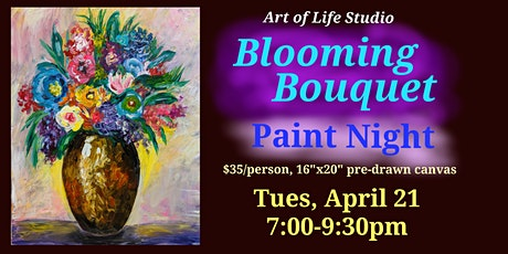 Paint Night: Blooming Bouquet tickets